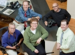 Lawrence Journal-World editors and photographers after winning an EPPY in 2012.